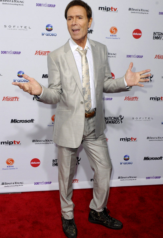 Sir Cliff Richard is the winner in Most Stylish Men 2015 - Category Music