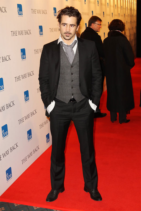 Celebrities' style: Colin Farrell