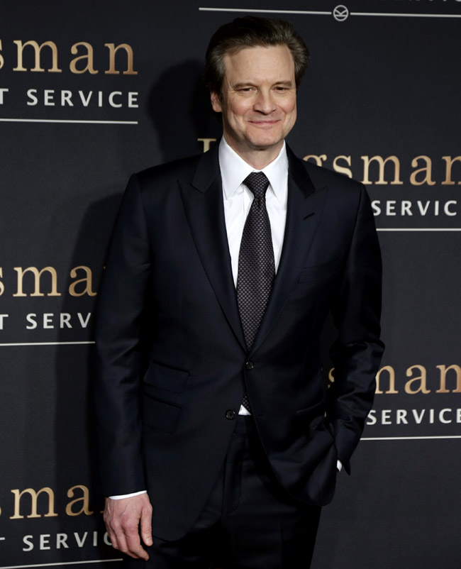 Colin Firth is the winner in Most Stylish Men 2015 - Category Cinema