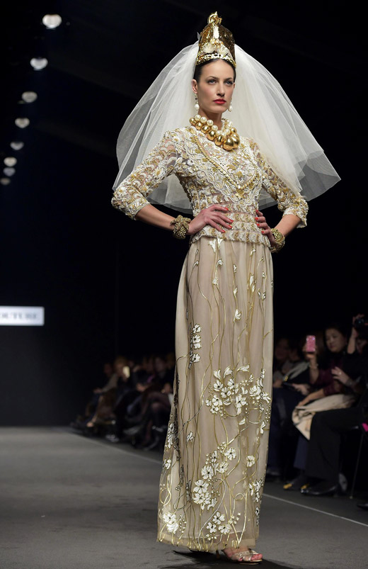 Curiel Couture Spring-Summer 2015 collection at AltaRomaAltaModa fashion week