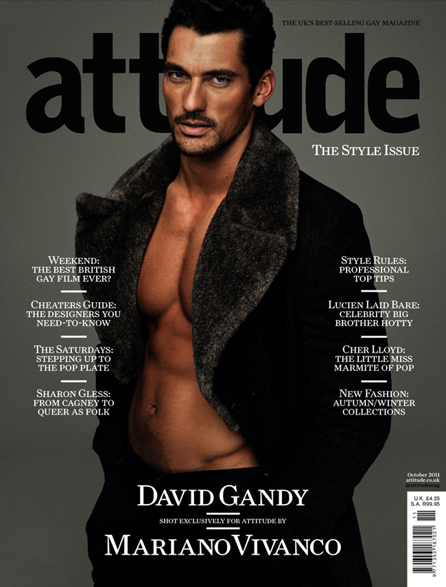 David Gandy is the winner in Most Stylish Men 2015 - Category Science and Culture