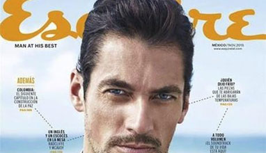 David Gandy covers Esquire Mexico