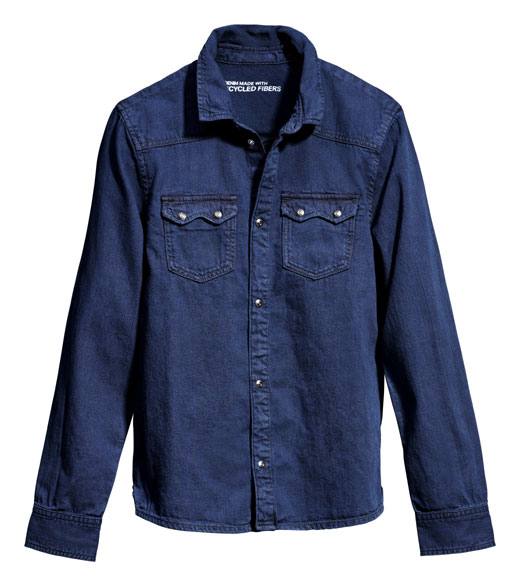 New denim styles at H&M help close the loop for more sustainable fashion