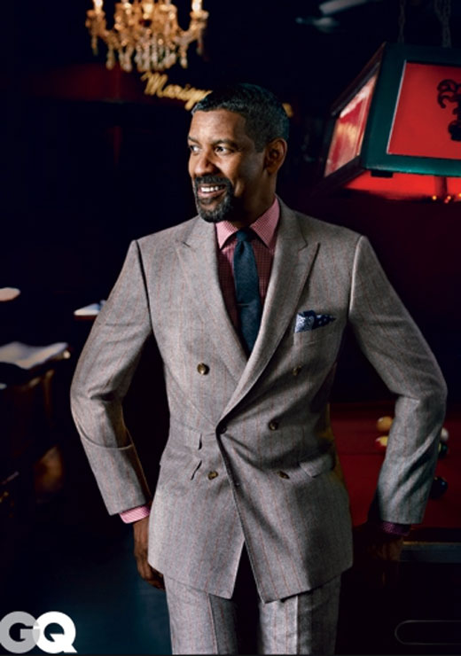 Men with Style: Denzel Washington