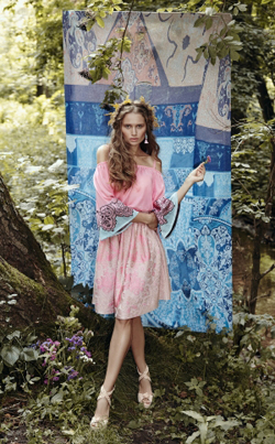 The new Spring Summer 2016 collection by London knitwear label Ekaterina Kukhareva
