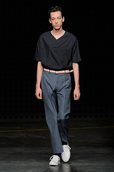 E. Tautz presented Spring/Summer 2016