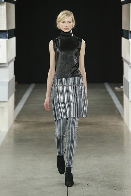 Edun presented Fall/Winter 2015-2016 collection at New York Fashion Week