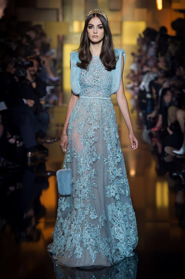 Elie Saab Fall-Winter 2015/2016 haute couture collection