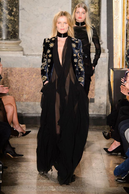 The Zodiac collection by Emilio Pucci Fall/Winter 2015-2016