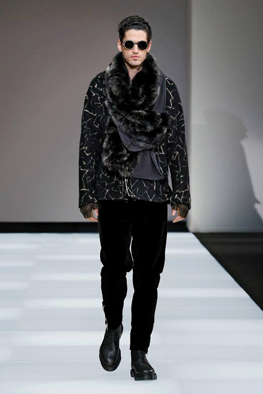 Колекция мъжка мода за Есен-Зима 2015/2016 от Emporio Armani