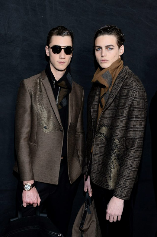 Emporio Armani Fall-Winter 2015/2016 menswear collection
