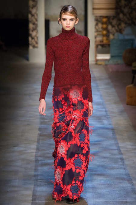 London Fashion Week: Erdem Fall/Winter 2015 collection