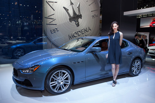 Ermenegildo Zegna with made-to-measure interiors for Maserati
