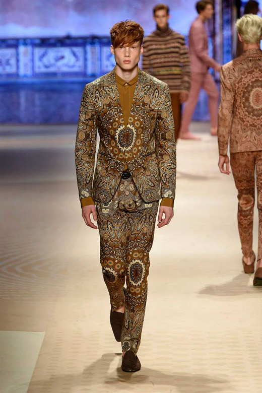 Menswear: Etro Spring-Summer 2016 collection