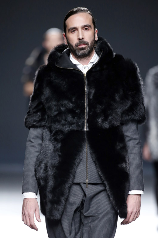 Etxeberría Fall-Winter 2015/2016 collection at MBFW Madrid
