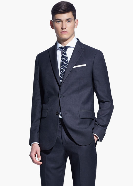 Spring/Summer 2015 Mango Men Suit Guide