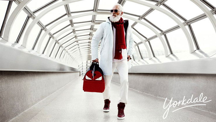 Canadian Mall Introduces New Hipster Santa