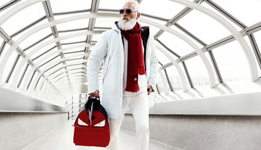 Toronto's Fashion Santa in a charity Christmas initiative