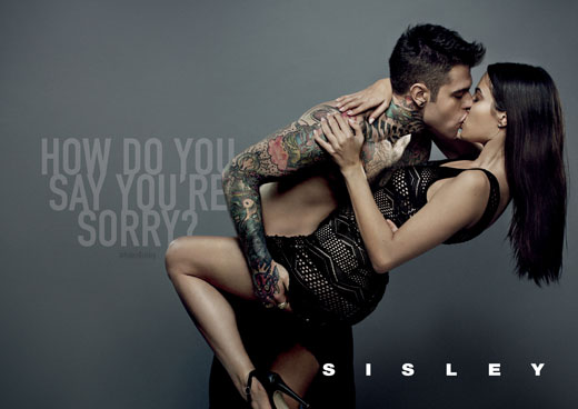 Milan-born rapper Fedez, media personality of the year, is the new face of Sisley's SS 2015 campaign