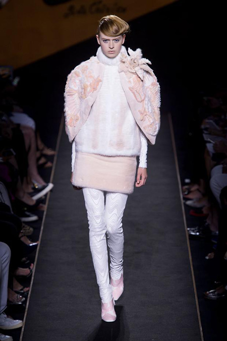 Silver Moon by Fendi Autumn/Winter 2015-2016 Haute Couture collection