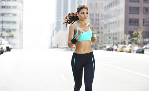 FOREVER 21 ACTIVEWEAR 2015 campaign with Shanina Shaik