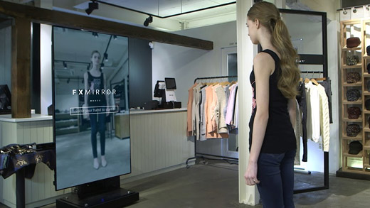 Futuristic Dressing Room   Innovative Retail And Marketing Solution Part 68