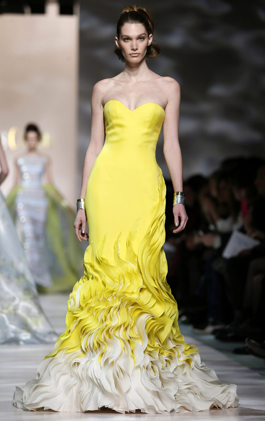 Georges chakra spring summer 2015 haute couture collection for Hot couture fashion