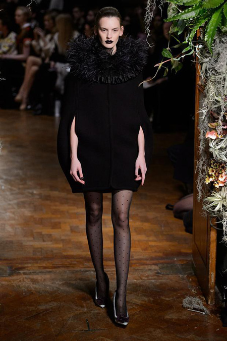 Giles presented Autumn/Winter 2015 during London Fashion Week