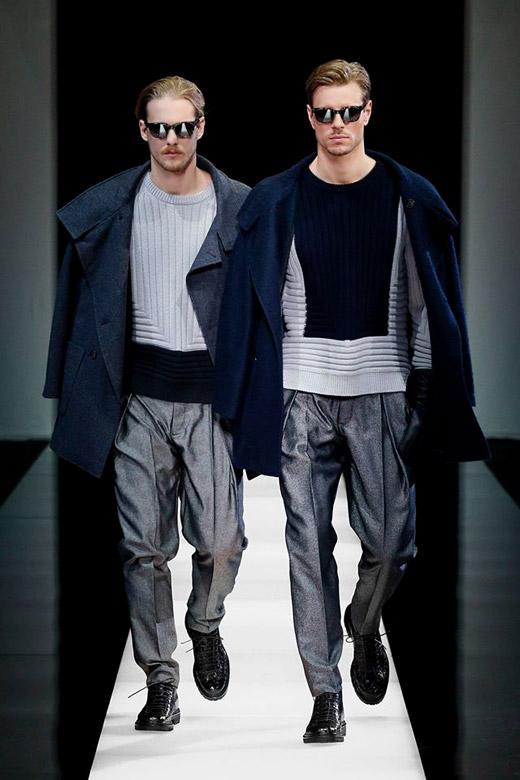 Giorgio Armani Fall-Winter 2015/2016 menswear collection