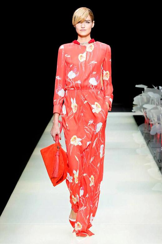 Дамска мода за Пролет-Лято 2016 от Giorgio Armani