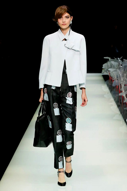 Giorgio Armani Spring-Summer 2016 womenswear collection