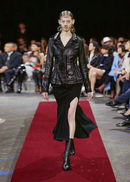 Givenchy presented Autumn/Winter 2015 during Paris Fashion Week