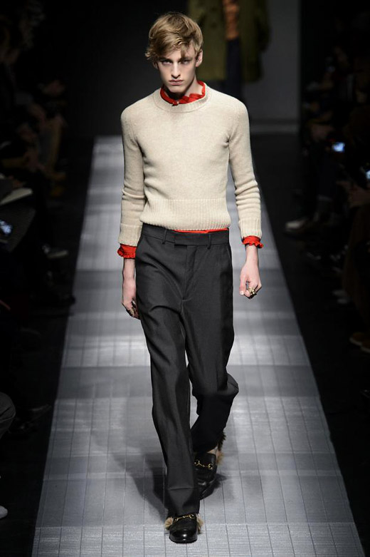 Men's fashion: Gucci Fall-Winter 2015/2016 collection