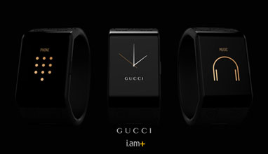 Gucci Timepieces and the development of innovative wearable device concept at Baseworld 2015