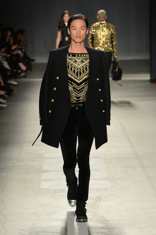 Balmain and H&M call for #HMBalmaination
