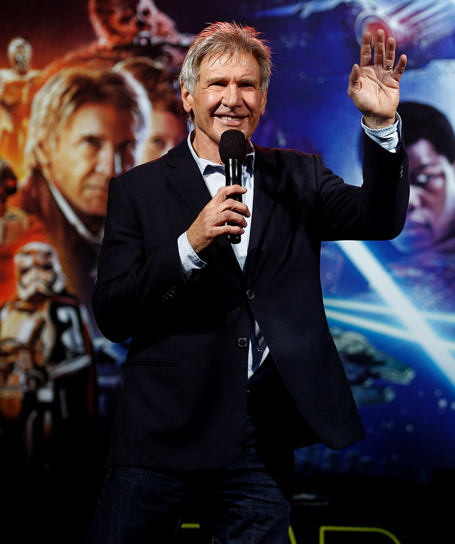 A Suit Jacket With Jeans - Why Not ? See Harrison Ford style