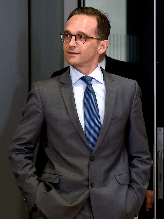 Heiko Maas - the German Justice Minister's style