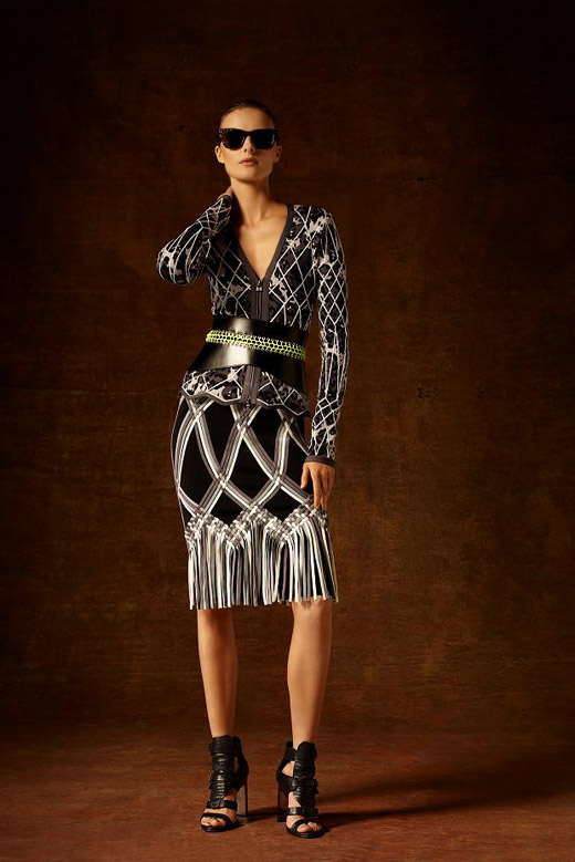 Hervé Léger by Max Azria Pre-Fall 2015 collection