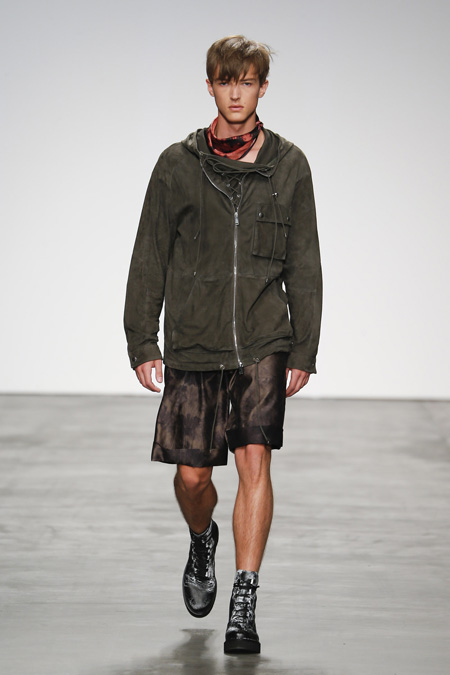 """Rebirth in nature"" by Iceberg Spring/Summer 2015 Men's collection"