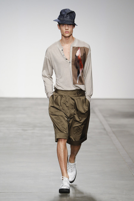 """Rebirth in nature"" by Iceberg Spring/Summer 2015 Men's ..."