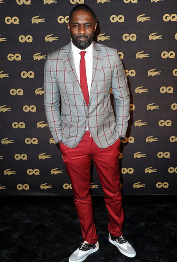 Celebrities' style: Idris Elba