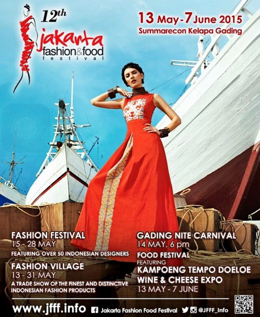 Jakarta Fashion & Food Festival 2015