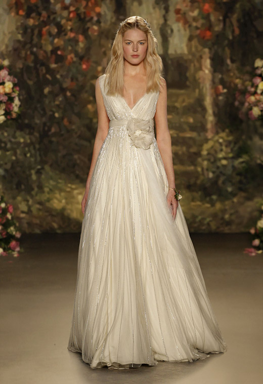 Jenny Packham Spring-Summer 2016 Bridal collection