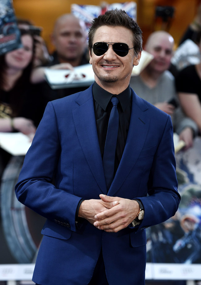 Celebrities' style: Jeremy Renner