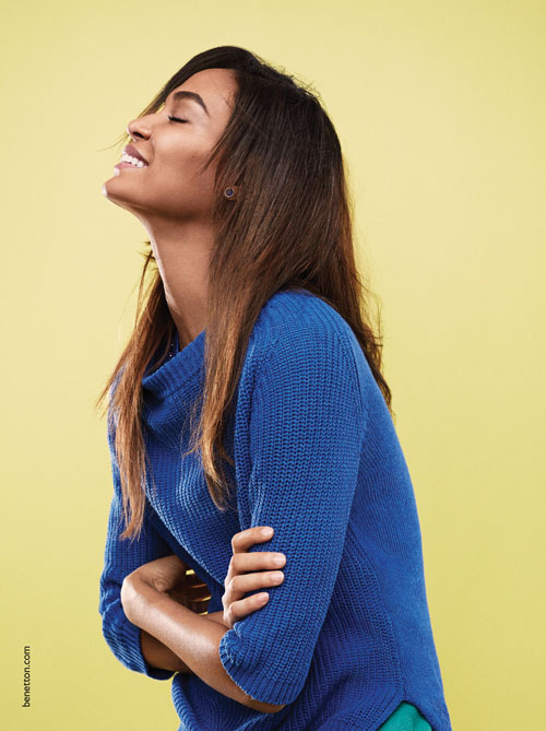 United Colors of Benetton chooses Joan Smalls as its style ambassador