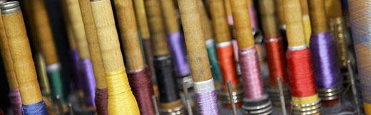 John Foster weaving quality fabrics