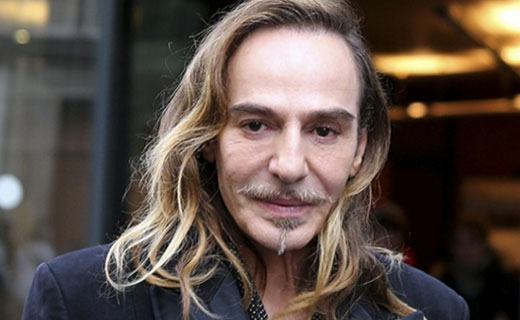 John Galliano to design menswear for Maison Margiela