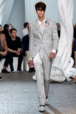 Menswear designer John Varvatos with made-to-measure service in London