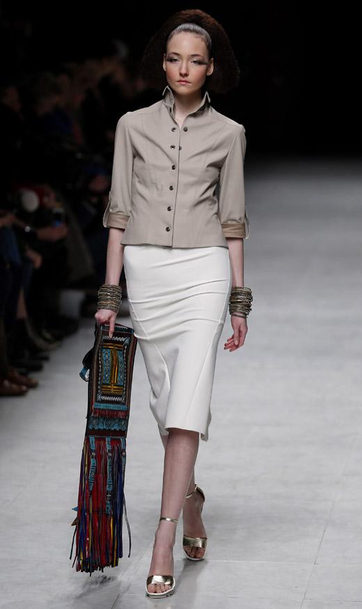 Julien Fournié Spring-Summer 2015 Haute Couture collection at Paris Fashion Week