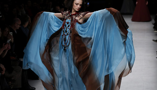 Julien Fournié Spring-Summer 2015 Haute Couture collection at Paris Fashion Week